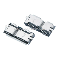 Micro USB Universal Serial Bus Conforming Connector 5pins Connectors For Tablet PCs, Female, SMT