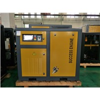 90kw 120hp China Permanent Magnet Air Cooling Screw Air Compressor with Inverter