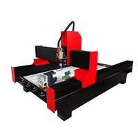 1324 4 Axis 3d CNC Router 4 Axis Stone CNC Router with Rotary Device