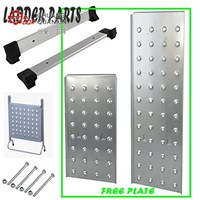 Multi Purpose Aluminium Extension Scaffold Ladder with Free Step Platforms