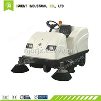 Sidewalk Floor Sweeper with CE