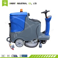 Factory, Mall, Supermarket, Hotel, Restaurant Industry Used Ride on Floor Scrubber Dryer