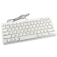 MFI Certificated 8 Pin Wirde Keyboard for iPad/IOS (YBK-S0808)