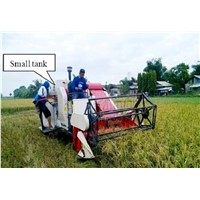 Mini Rice & Wheat Combine Harvester