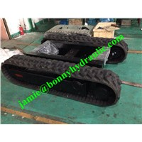 3 Ton Rubber Tracked Undercarriage/ Rubber Crawler Undercarriage