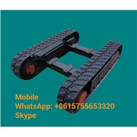 Custom Built Rubber Track Undercarriage/ Rubber Crawler Undercarriage