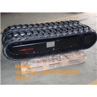 5 Ton Rubber Track Undercarriage/ Rubber Crawler Undercarriage