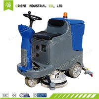 Supermarket Floor Washer & Dryer OR-V7 Ride on Floor Scrubber Dryer