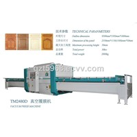 TM2480D2 Vacuum Film Covering / Coat Machine