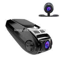 Dash Camera Covert Recorder Dual Car Cam LCD FHD 1080p 170 Wide Angle Dashboard with G-Sensor, WDR, Loop Recording