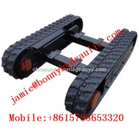 0.5t Rubber Track Undercarriage