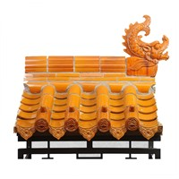 Glazed Roof Tile in Traditional Chinese Style