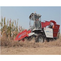 Self-Propelled Corn Combine Harvester