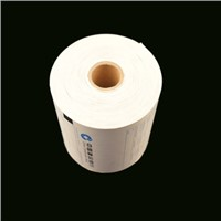 Custom Thermal Paper, Yellow Adhesive Thermal Paper