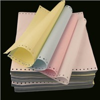 Continuous Paper Carbonless Paper with Top Quality Designer, 3-Ply Continuous Carbonless Printing Paper