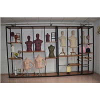 New Pattern Clothing Window Display Racks