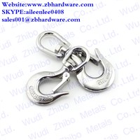 Stainless Steel Swivel Slip Hook Rigging Hardware