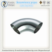 8 Inch Carbon Steel Pipe 45 60 90 Degree Elbow