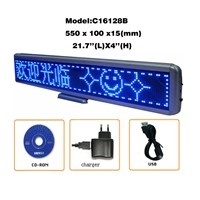 High Quality Portable Exquisite LED Matrix Message Display