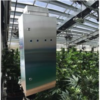 Hydroponics Fan Air Purifier Marijuana Greenhouse