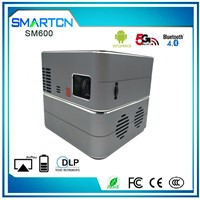 Business Gift 3LED 1280 x 800 250 ANSI Lumens DLP Electronic Projector with Android 5.0 for Mobile Phone