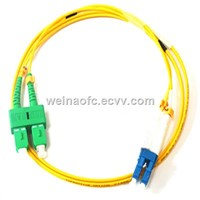 Fiber Optic Patch Cord SC-LC Singlemode Duplex with Clips G657A2