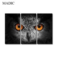Large Canvas Wall Art Animal Oil Painting Black & White Canvas Art for Room Decoration