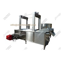Continuous Peanut Frying Machine