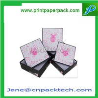 Custom Paper Gift Box Top & Bottom Box Jewelry Box Watch Box