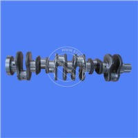 Excavator Spare Parts PC200-7 Excavtor Engine Crankshaft Genuine Parts for Komatu