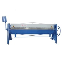 Wondely Sheet Metal Aluminum Bender Heavy Manual Crimping Bending Machine