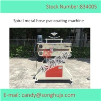 Aging Proof PVC Coated Flex Metal Corrugated Conduit Extrusion Machine