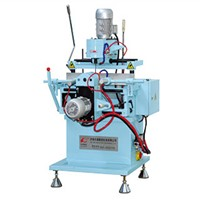 LQXC-2FX Brand New Aluminum & PVC Profile Copy-Routing Milling Machine Of Two Heads