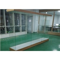 Hexin Toughened Glass Display Showcase, Glass Display Cabinet