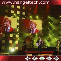 Indoor P3.91mm High Definition Full Color LED Rental Display Screen - 500x500mm Unit