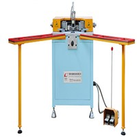 LQLJ-ZJ-Q Brand New Aluminum Windows-Door Pneumatic Angle Grouping Machine