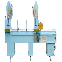 LQJQ-450*3700 Aluminum & PVC Profile Double-Headed Cutting Saw (Saw King)