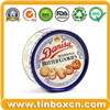Cookies Tin, Biscuit Tin, Snack Tin, Food Tin Box, Tin Can, Metal Box Packaging (BR1812)