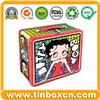Tin Lunch Box, Lunch Tin Box, Handle Tin Box, Gift Tin Packaging (BR1051)