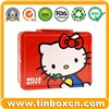 Tin Lunch Box, Lunch Tin Box, Tin Box with Handle, Gift Tin Box (BR1055)