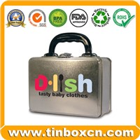 Handle Tin for Lunch & Gift Packaging Box