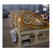 PE200x300 Limestone Rock Jaw Crusher with Feed Hopper for Small Mine Plant