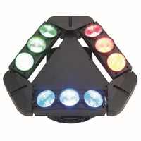 LED 8*10W 9 Head Spider Moving Head Light