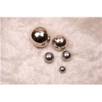 "Stainless Steel 316 Ball, Grade 100, Reflective Finish, ASTM-A493, 1/2"" Diameter"