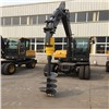 Earthmoving Machinery Attachment Hydraulic Earth Auger Drive Unit Drill