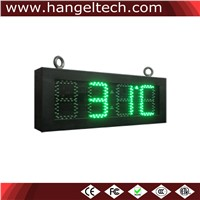 5 Inches Digit 88:88 Outdoor LED Large Digital Temperature Display