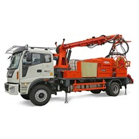 CSP30 Mobile Concrete Sprayer for Underground Project