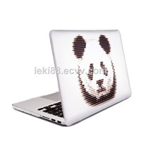 "Cute Panda Cartoon PC Case for Macbook Air / Pro11 ""12"" Box Printer for MacBook Air / Pro Case"