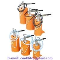 Hand Lever Grease Pump Portable Lubricator / Manual Oil Bucket Pump Lever Action Dispenser
