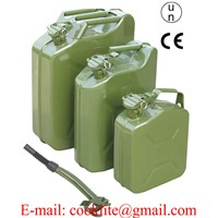 Jerry Can NATO Style Gasoline Fuel Can Metal Gas Tank